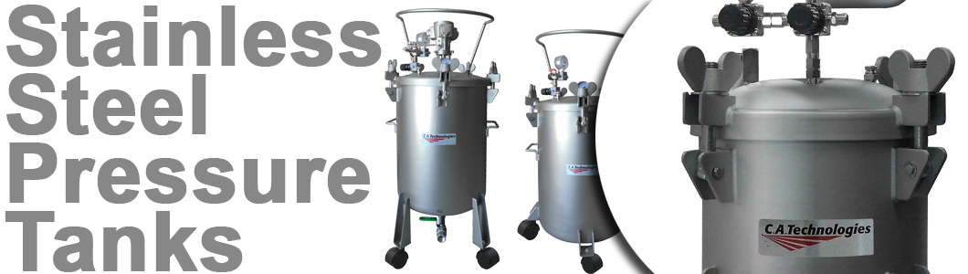 Stainless Steel Pressure Tanks